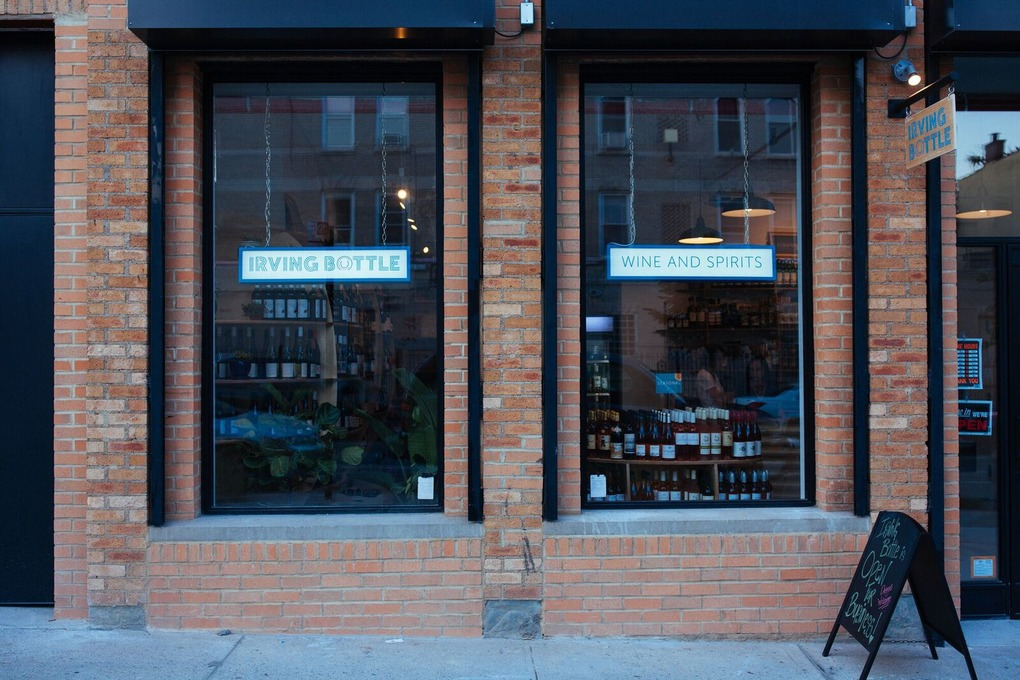 Irving Bottle Wine Shop Brings Organic and Natural Wines & Spirits to Bushwick — Food and Drink on Bushwick Daily