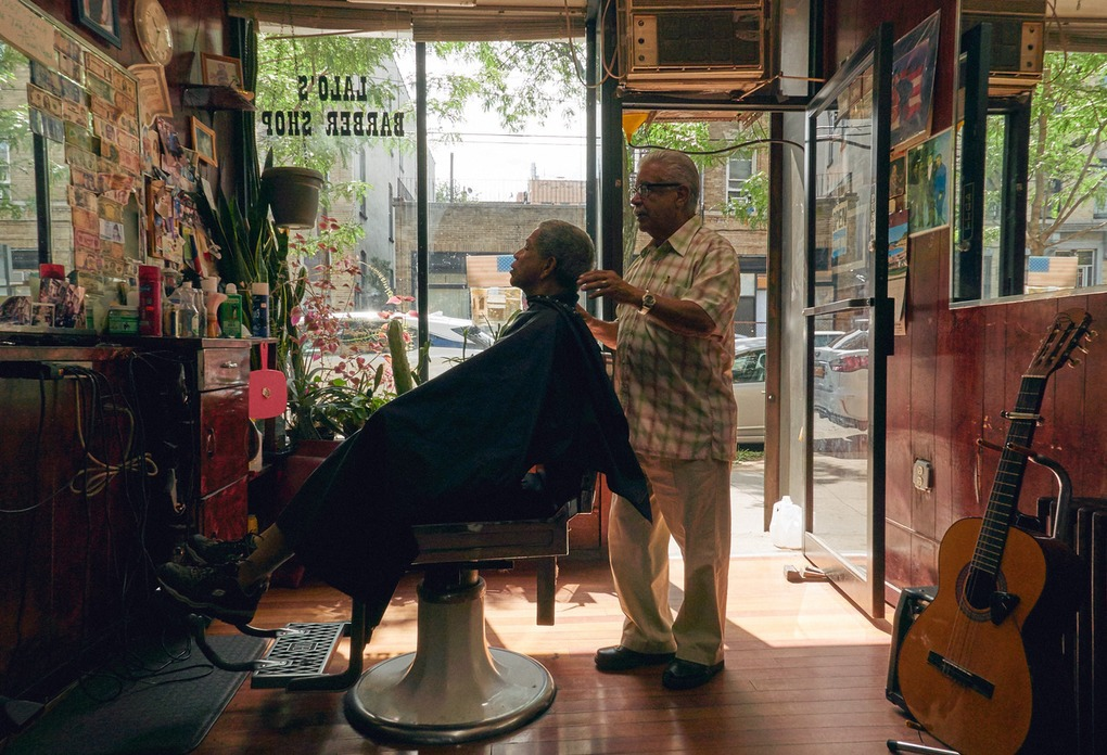 PHOTOESSAY: This Tiny Puerto Rican Barbershop in Bushwick Has Been Around for 40 Years — Community on Bushwick Daily