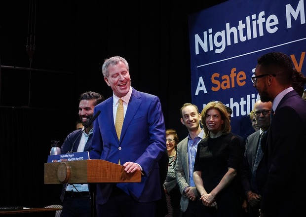 Last Night Mayor de Blasio Created an Office of Nightlife at House of Yes — Arts & Culture on Bushwick Daily