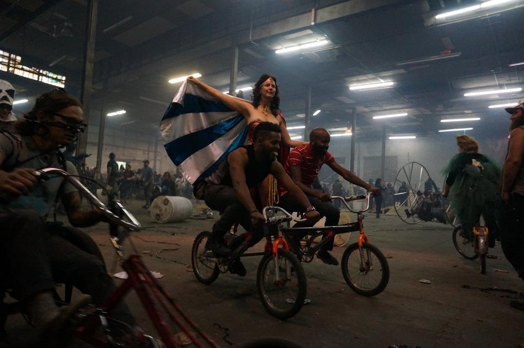 Photos: Anarchic Jubilation at the 13th Annual Bike Kill — Arts & Culture on Bushwick Daily