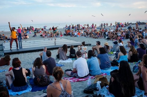 Catch a Tan and Free Art with Dance Performances at Rockaway Beach  — Arts & Culture on Bushwick Daily