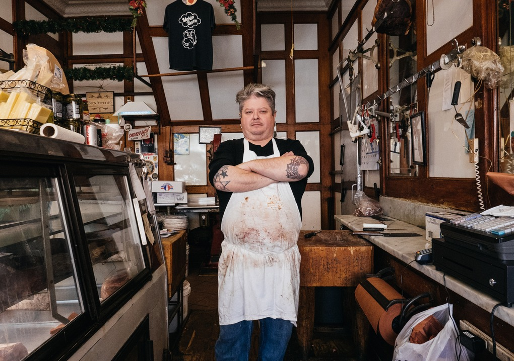"""PHOTOESSAY: """"I Was Born With a Butcher Knife in My Hand""""  — Food and Drink on Bushwick Daily"""