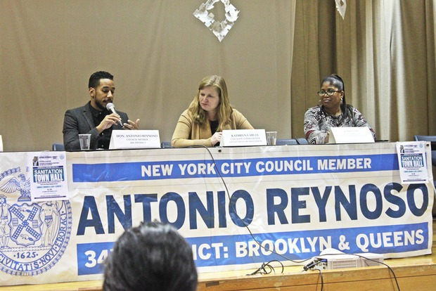 Bushwick Council Member Antonio Reynoso Holds First Ever Sanitation Town Hall — Community on Bushwick Daily
