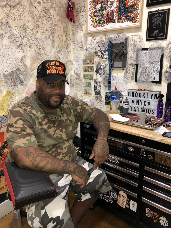 Despite Elimination, Big Jaz Is still Brooklyn's Ink Master — Arts & Culture on Bushwick Daily
