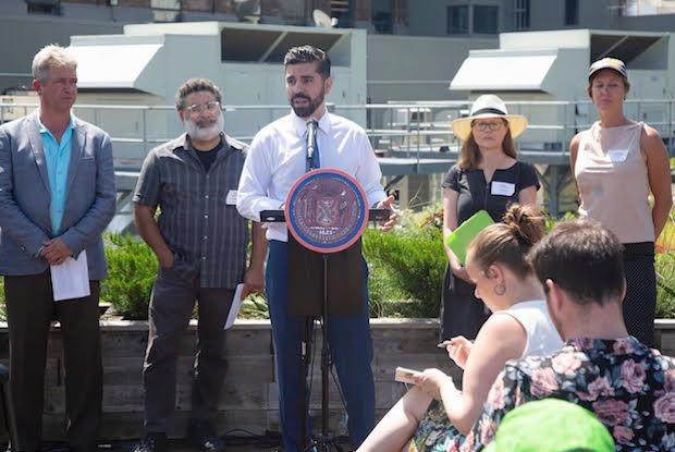 Council Member Espinal Wants Mandatory Green Roofs on New Buildings — News on Bushwick Daily