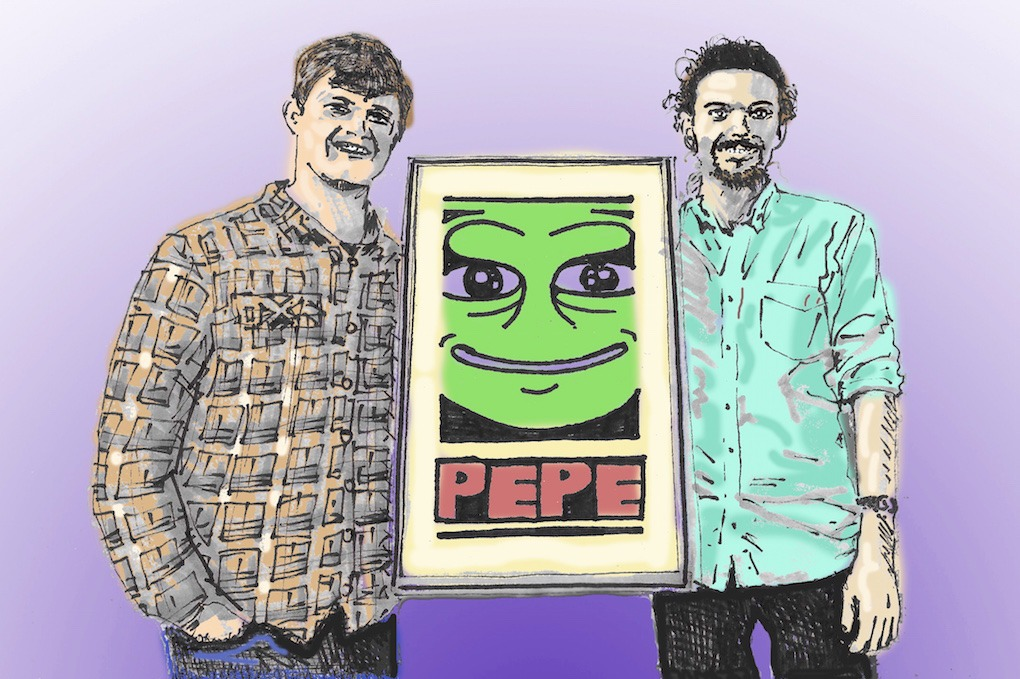 Blockchain Enthusiasts Threw A Pepe The Frog Themed Party in Bushwick — Community on Bushwick Daily