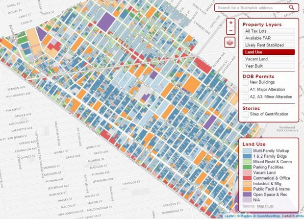 Bushwick Residents Designed a Neighborhood Map for Housing Advocacy—Learn to Use it This Thursday! — Community on Bushwick Daily