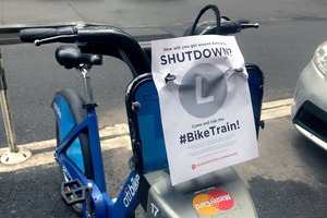 Worried About the L Shutdown? Then Hop on the Bike Train