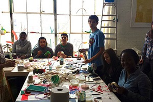 Arts in Bushwick's Community Projects Team Hypes Arts Education & Social Action Before BOS 2014