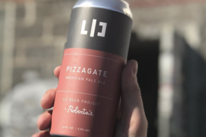 Take That, Conspiracy Theorists: a New Pizzagate Beer Debuts at Roberta's on Friday