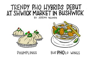 Phumplings Spawn More Trendy Pho Hybrid Foods [COMIC]