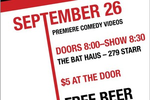 Tomorrow: If You Like Comedy & Free Beer You Should Go to Red Hot Video Fun Time