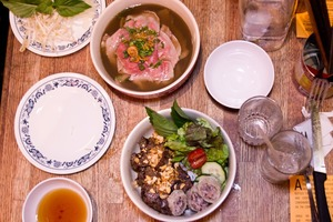 Photos: Newly Reopened Bunker Vietnamese Pays Homage to Unpretensious Street Food