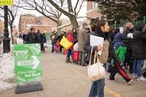 Get in the Spirit of Sustainability at GrowNYC's Stop 'N' Swap in East Williamsburg
