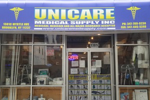 Get All Your Healthcare Equipment & Supplies at Unicare Medical Supply Inc. in Bushwick