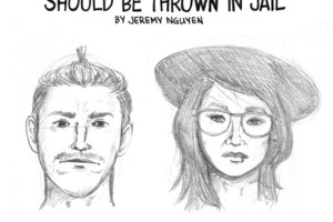 Police Sketches of Bushwick's Social Criminals [COMIC]