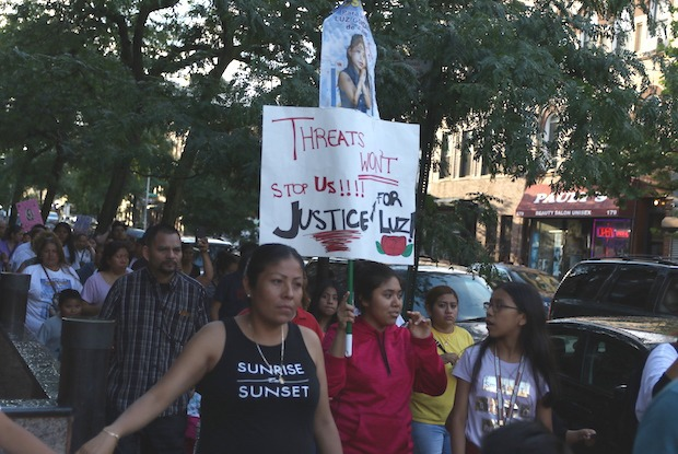 The Bushwick Community Demands Justice for Luz Gonzalez