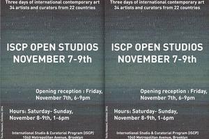 2014 Open Studios is Not Over Yet – ISCP Fall Open Studios is this Weekend