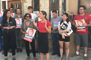 Here's How to Sign Up to Canvass for Senate Hopeful Julia Salazar