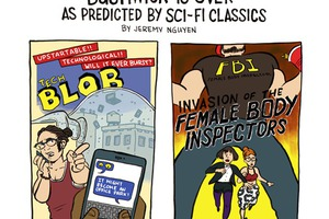 Bushwick is OVER, As Predicted by Science Fiction Classics [COMIC]