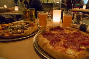 Bushwick Brews: Pizza and Beer Pairings: BYOB at Union Pizza Works