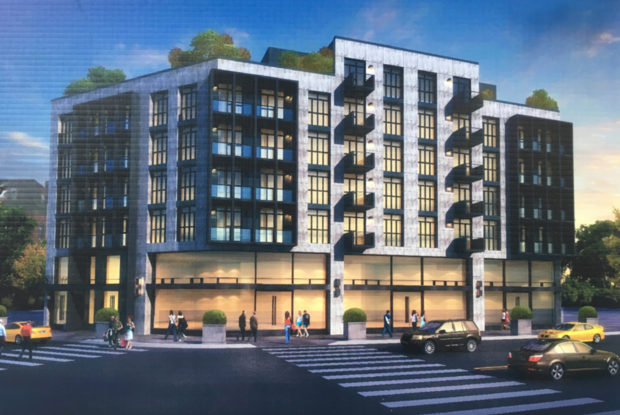 The Old KFC Lot on Myrtle Avenue Will Transform into a 7-Story Mixed-Use Building