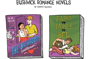 Bushwick Romance Novels to Read This Valentine's Day [COMIC]