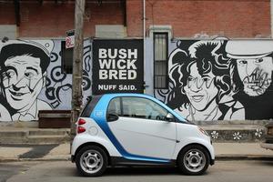 Drive Teeny Tiny Smart Devils: Car2Go Expanded to Bushwick