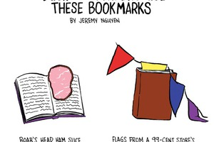 Bushwick Marks Their Books With These Bookmarks [COMIC]