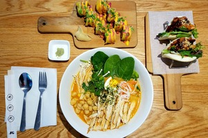 After a Year, Business is Brisk for Healthy Asian Fusion Joint Buntopia