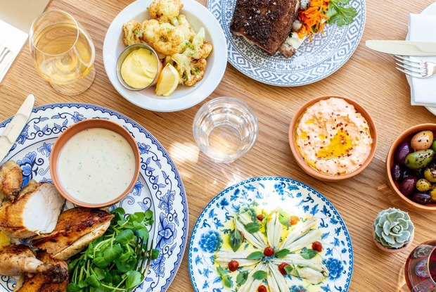 New Greek Inspired Restaurant in East Williamsburg Feels Like the Perfect Summer Vacation