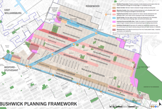 Bushwick Rezoning Aims for   Industrial Job Growth and Affordable Housing, Locals Remain Skeptic