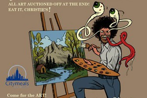 20 Painters to Take Down Active Space in a Bob Ross Competition This Sunday