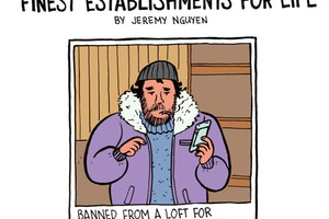 Comic: Watch Out For These People Banned From Bushwick Finest Establishments [COMIC]