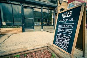 Get a Wake Up Call at Miles Bar!