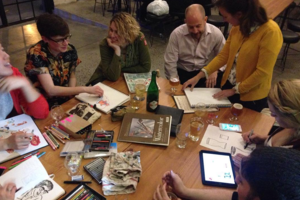 Drink & Draw at KCBC Is the Adult Doodling Session You've Been Waiting For