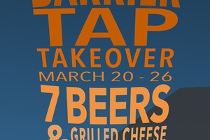 Barrier Brewing Tap Takeover at Miles - One Week Only!