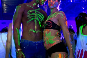The World's Biggest Body Painting Party in Photos [NSFW]