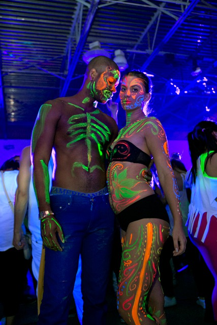 The World S Biggest Body Painting Party In Photos Nsfw