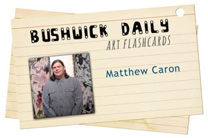 Artist Flashcards: Matthew Caron's Video-Worlds