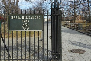Update: Sword-Wielding Man Arrested for Menacing Strangers in Bushwick's Maria Hernandez Park