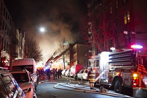 UPDATE: Fire Stoked by Wind Rages Through 5 Bushwick Buildings