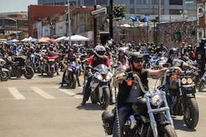 PHOTOESSAY: Bikers Took Over Johnson Avenue This July For Annual Pamper Run