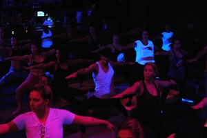 We Tried the Ultra-Popular Deep House Yoga at House of Yes