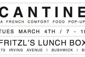 French Comfort Food 'Cantine' Pops Up at Fritzl's Tomorrow Night