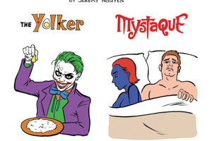 The Yolker and Other Comic Book Villains of Bushwick Strike Again! [COMIC]