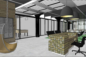Free Month at New Co-working Space at Cheap Storage Building