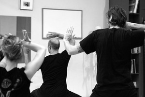 Kung Fu Master Sifu Lee Teaches Tai Chi at The Loom in Bushwick