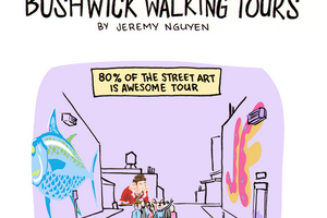 Check Out the Lesser Known Bushwick Walking Tours [Comic]