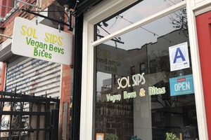 A Vegan Pop-Up Now Occupies One of the Most Carnivorous Spaces in Bushwick